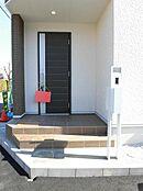 施工例 モニター付インターホン・玄関ドア