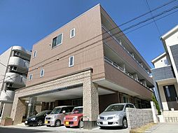 愛知県清須市西枇杷島町二見の賃貸マンションの外観