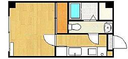MKMマンション根岸[3階]の間取り