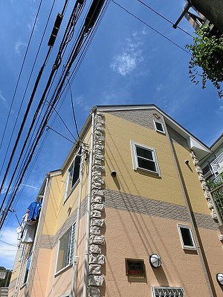 ユナイト横浜ブルージュの杜[1階]の外観