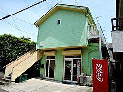 東京都日野市多摩平4丁目の賃貸アパートの外観