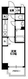 プレサンス新大阪コアシティ[9階]の間取り