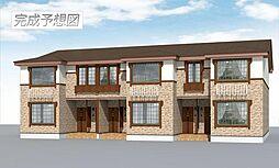 青森県十和田市西十六番町の賃貸アパートの外観