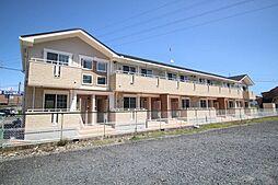 栃木県鹿沼市上野町の賃貸アパートの外観
