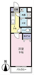 SYLPH・K シルフ ケイ[5階]の間取り