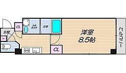 リバーライズ東小橋II[601号室]の間取り