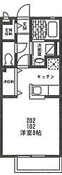 ピソリドウ[2階]の間取り