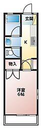 小菅第2ビル[2階]の間取り