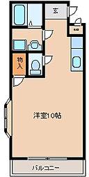 ラフォーレ御井[301号室]の間取り