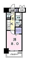 メゾン ラフレシール[3階]の間取り