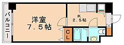 スカイコート博多駅前I[10階]の間取り