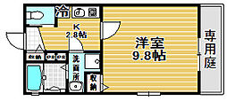 Kiyo maison 綾園[1階]の間取り