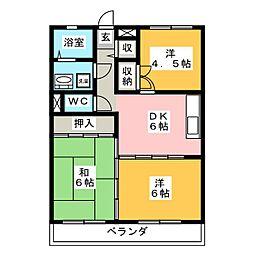 メゾン シグマ[3階]の間取り
