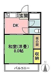 第二吉美マンション[3階]の間取り