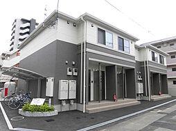 愛媛県松山市清水町3丁目の賃貸アパートの外観