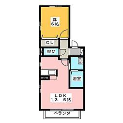 アリュール[2階]の間取り