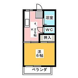 ドエルイクタ[2階]の間取り