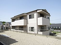 愛知県常滑市字長間の賃貸アパートの外観