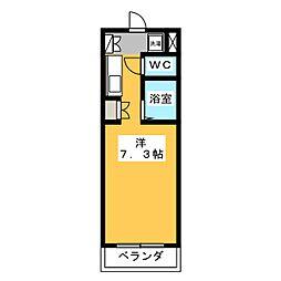 コミットメントガーデン磐田[4階]の間取り