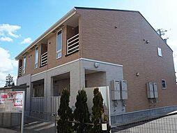 富山県富山市本郷町水上割の賃貸アパートの外観