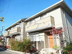 兵庫県三木市宿原の賃貸アパートの外観