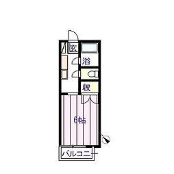 MMハイツ[2階]の間取り