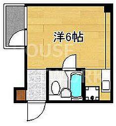 リエス東堀川[605号室号室]の間取り