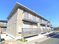 千葉県松戸市秋山3丁目の賃貸アパートの外観