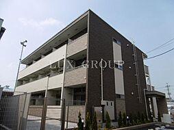 東京都武蔵村山市榎3の賃貸アパートの外観