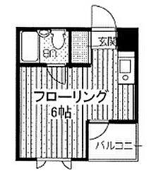 東京都豊島区南大塚3の賃貸マンションの間取り