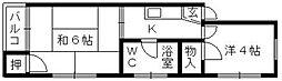 サンシャイン龍禅寺[3階]の間取り