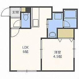 LEESQUARE[2階]の間取り