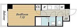 クレールブルー[4階]の間取り