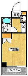 オセアン新沢ビル[3階]の間取り