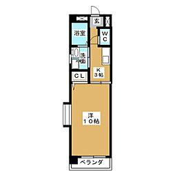 シェーン八事山[1階]の間取り