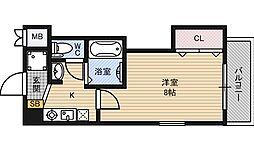 MPLAZA新大阪駅前[8階]の間取り