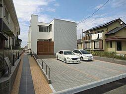 [テラスハウス] 福岡県福津市西福間1丁目 の賃貸【/】の外観