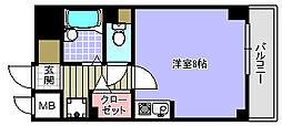 プランドールマサキ[806号室]の間取り