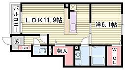 山陽本線 網干駅 バス13分 上余部北口下車 徒歩15分