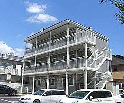 京都府京都市右京区梅津南広町の賃貸アパートの外観