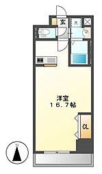 S−FORT葵一丁目[5階]の間取り