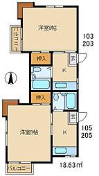 南高崎駅 1.8万円