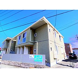 静岡県静岡市駿河区丸子の賃貸アパートの外観