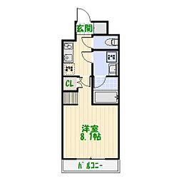 東京都葛飾区堀切3丁目の賃貸マンションの間取り