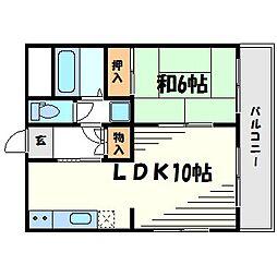 ロイヤルメゾン甲子園口III[3階]の間取り