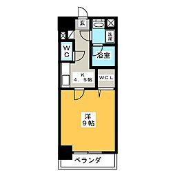 J・COURT・KAMIMAEZU[5階]の間取り