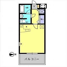 メゾンクレール2[106号室号室]の間取り