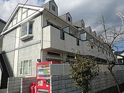 高知県高知市西秦泉寺の賃貸アパートの外観