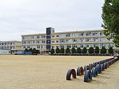 鳩里小学校まで約1000m。