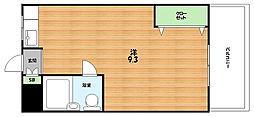 大阪府枚方市渚本町の賃貸マンションの間取り